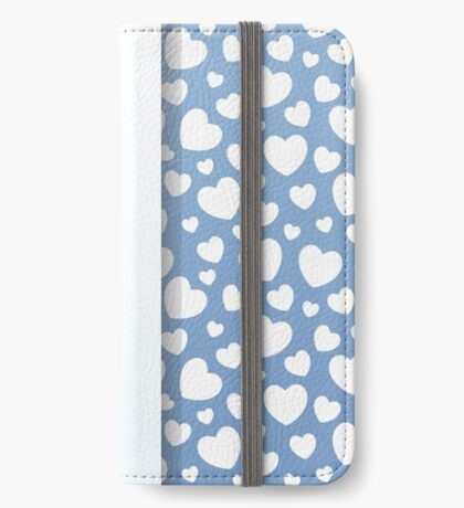 You make me happy. Hearts for valentines day iPhone Wallet/Case/Skin