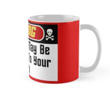 Warning Red Shirts May Be Hazardous ( Mugs & Travel Mugs) Mug