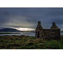 Stone Ruin on Rosses Point - Sligo, Ireland Photographic Print