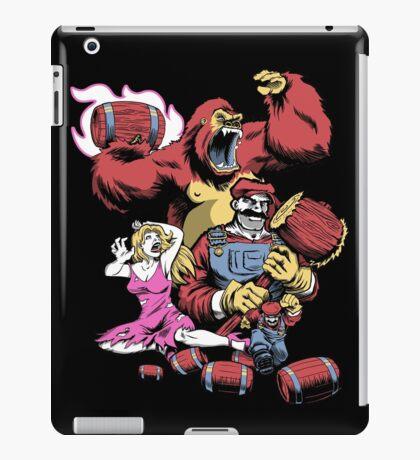Barrel Boss Battle iPad Case/Skin