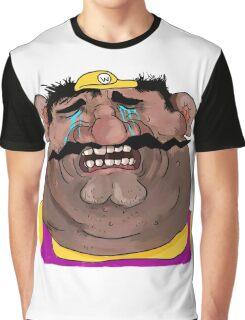 Sad Wario Graphic T-Shirt