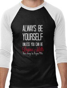 Always be Regina Mills - White Men's Baseball ¾ T-Shirt