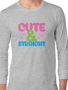 cute & Straight Long Sleeve T-Shirt