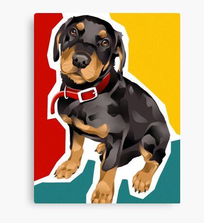 ROTTIE - Rottweiler Canvas Print