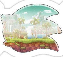 Sonic Madeon   Custom Sonic The Hedgehog Logo Sticker