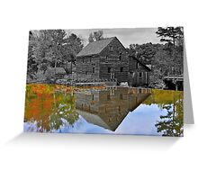 Mirror Image - Grist Mill Reflections Greeting Card