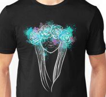 Elegant Mask - Dark Background T-Shirt