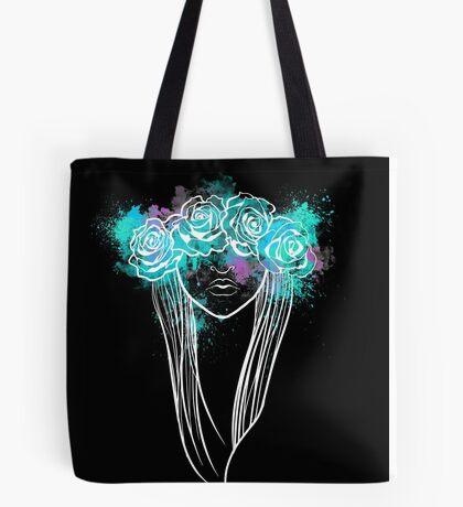 Elegant Mask - Dark Background Tote Bag