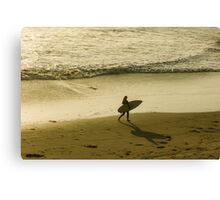 Golden California Girl -  Canvas Print