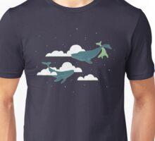 Sky Whales Unisex T-Shirt