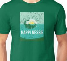 Happy Nessie Lochness Monster Happiness Funny Graphic Tee Shirt Grunge Vintage Style Unisex T-Shirt