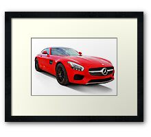 Mercedes-Benz C-Class saloon Framed Print
