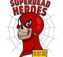Superdead heroes: spider-dead by logoloco