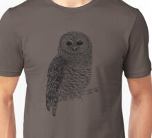 Spotted Owl Unisex T-Shirt