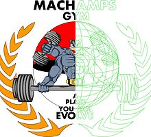 MACHAMPS GYM by popcultchart
