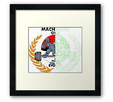 MACHAMPS GYM Framed Print