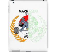 MACHAMPS GYM iPad Case/Skin