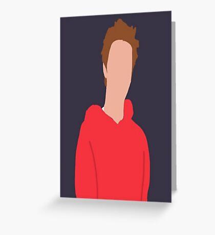 Justin Bieber Faceless Greeting Card