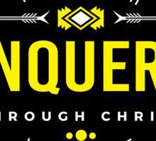 More than a Conqueror Sticker