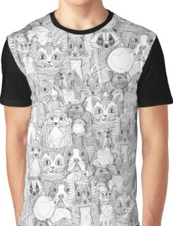 crazy cross stitch critters Graphic T-Shirt