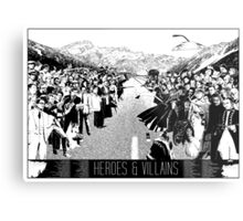 Heroes & Villains Metal Print
