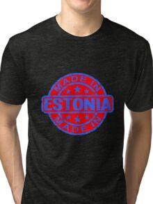 ESTONIA-2 Tri-blend T-Shirt