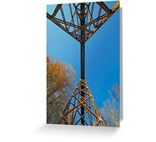 Beneath the Trestle Greeting Card