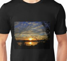 Inch Island Evening Sky......................Ireland Unisex T-Shirt