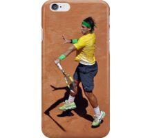 Forehand stroke (Rafael Nadal) iPhone Case/Skin