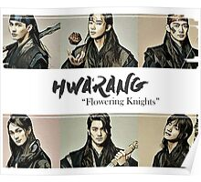 """Hwarang - """"Flowering Knights"""" Design Poster"""