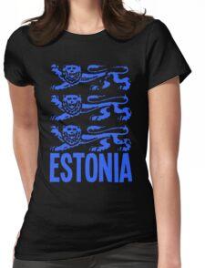 ESTONIA-(2) Womens Fitted T-Shirt