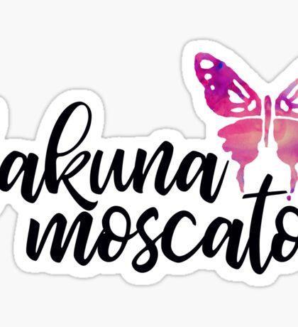 Hakuna Moscato Mach 2 Sticker