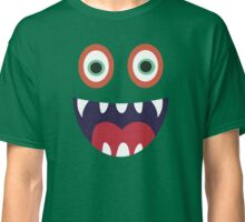 Cool Happy Monster Face T-shirt Cute Smily Face Kids Tshirt Classic T-Shirt