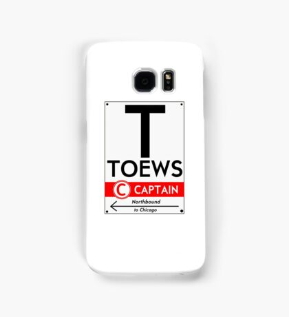 Retro CTA sign Toews Samsung Galaxy Case/Skin