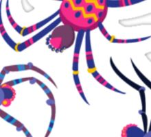 Cute Spider PATTERN  Sticker