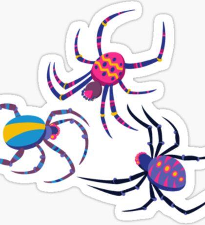 Cute Spider PATTERN  Sticker