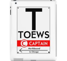 Retro CTA sign Toews iPad Case/Skin