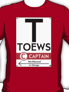 Retro CTA sign Toews T-Shirt