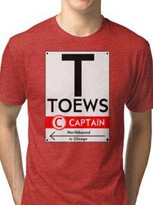 Retro CTA sign Toews Tri-blend T-Shirt
