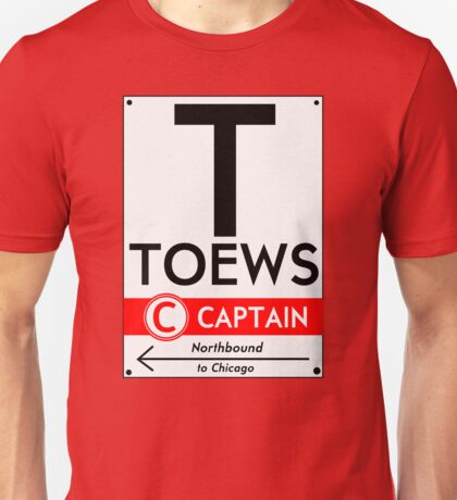 Retro CTA sign Toews Unisex T-Shirt