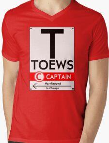 Retro CTA sign Toews Mens V-Neck T-Shirt