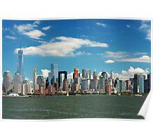 City - New York NY - The New York skyline Poster