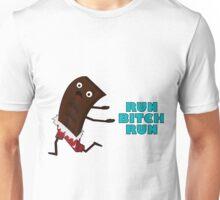 Run bitch chocolate Unisex T-Shirt