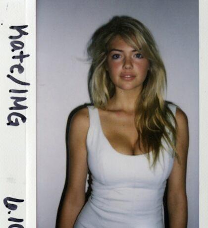 Kate Upton Polaroid Sticker