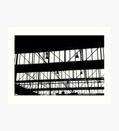 Warehouse Art Print