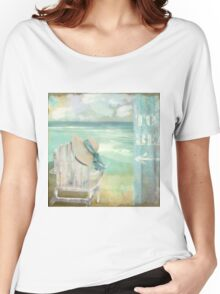 By the Sea Women's Relaxed Fit T-Shirt