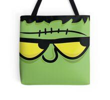 Frankenstein Monster Face Tote Bag