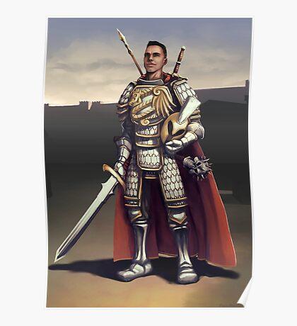 Fantasy Knight Poster