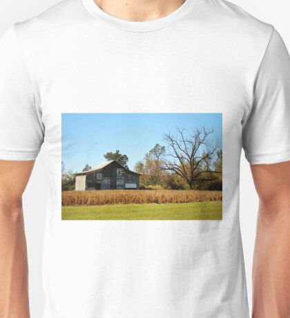Barn Landscape Unisex T-Shirt