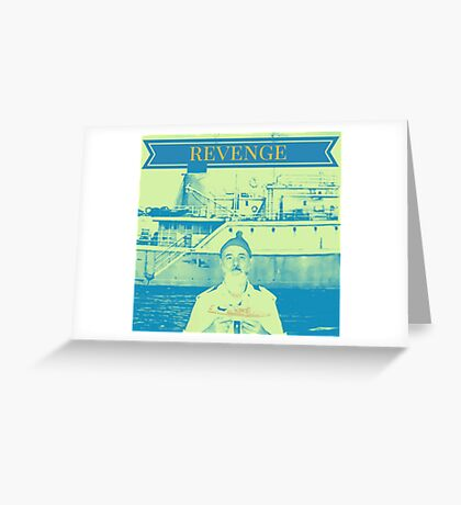 The Life Aquatic WES ANDERSON Revenge Greeting Card